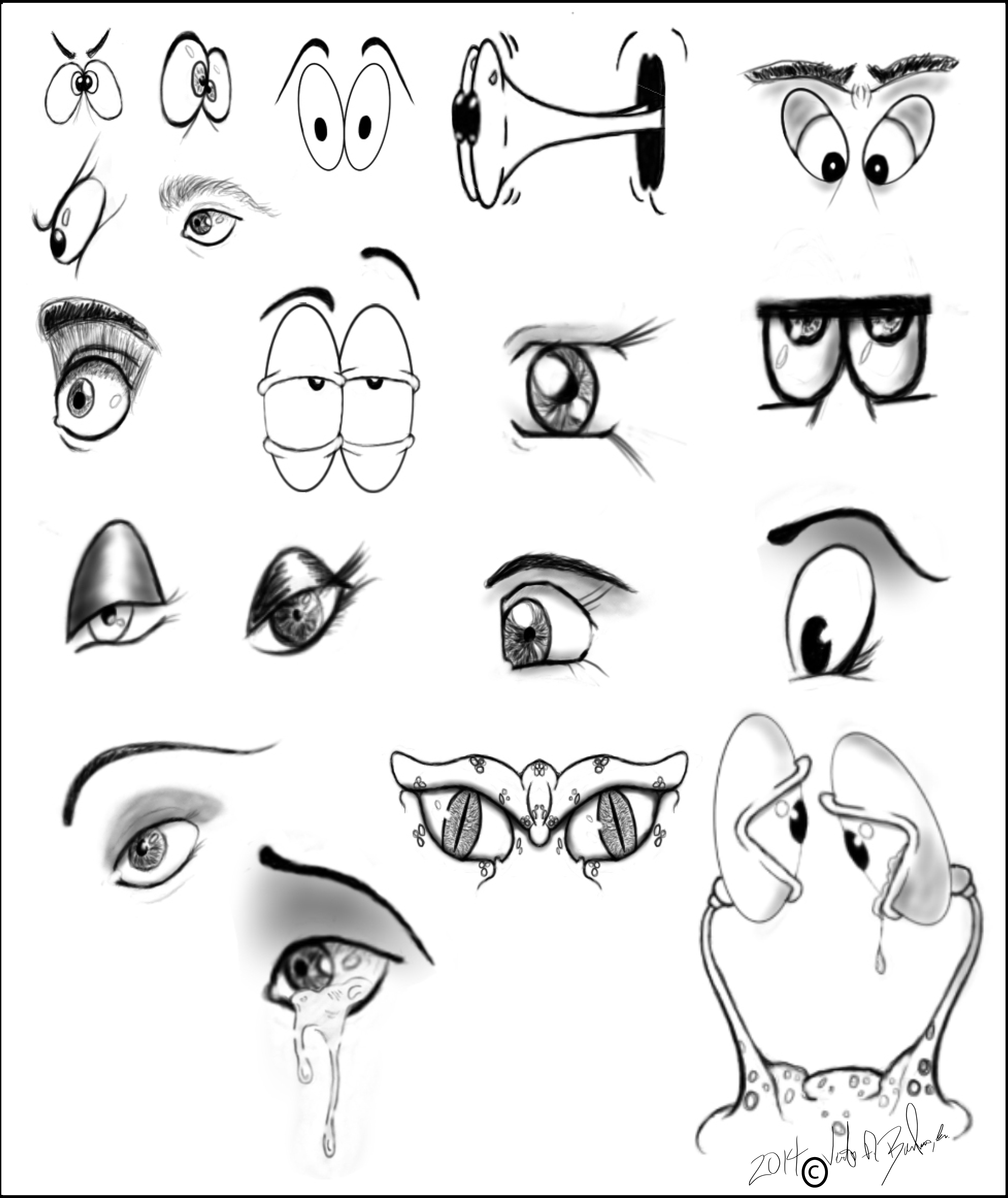 Just some eye balls