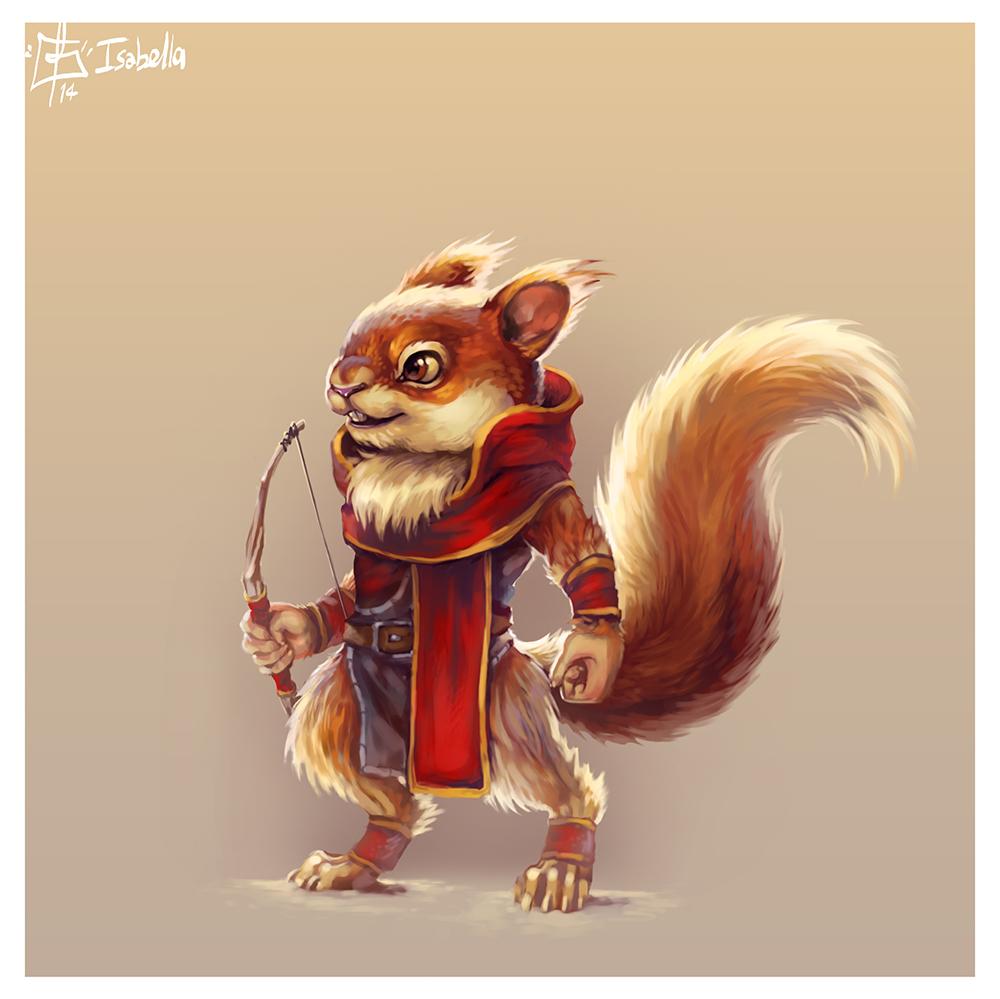 Squirrel Archer