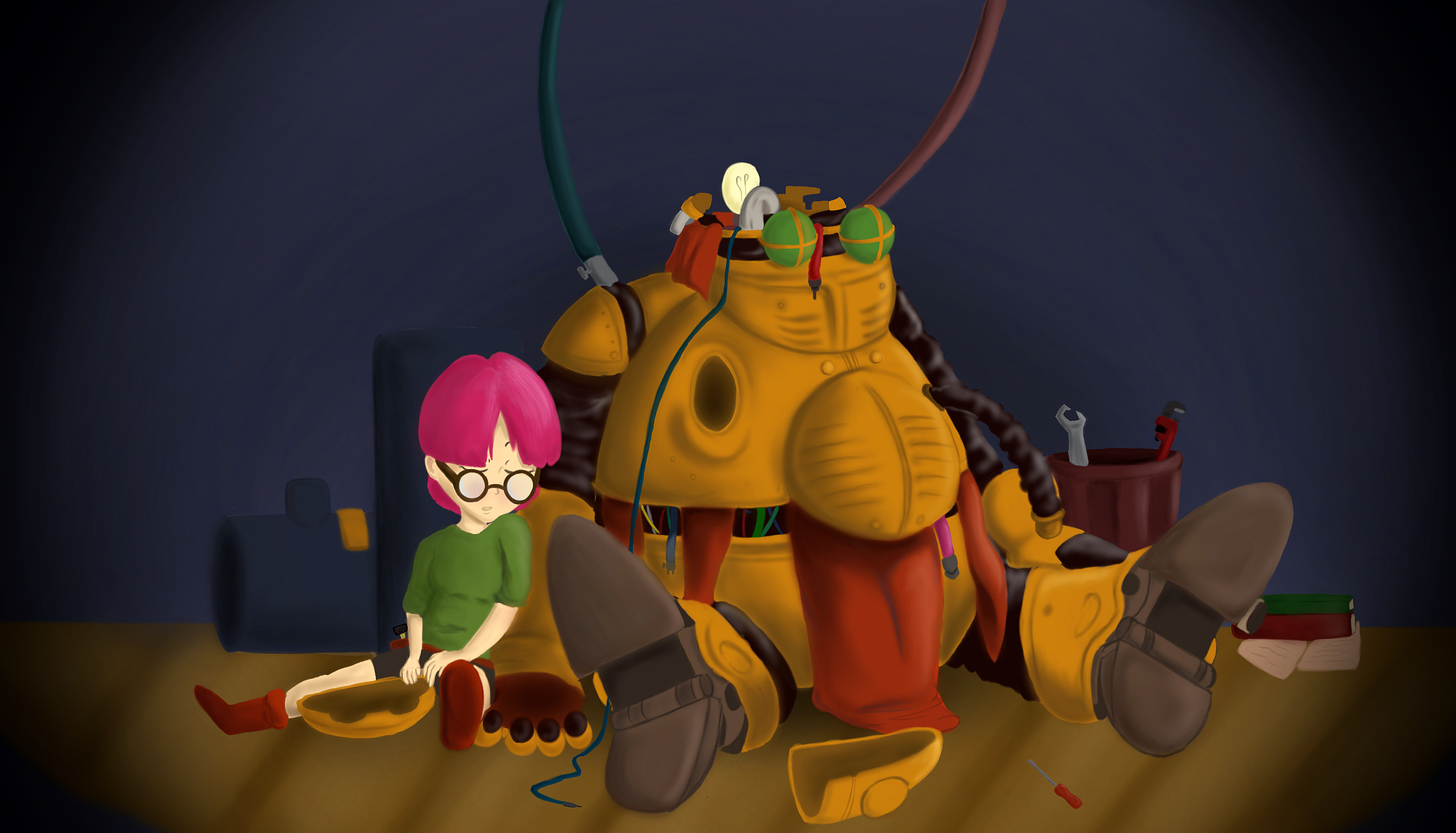 Lucca and Robo