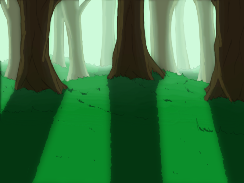 Forest -Game Background