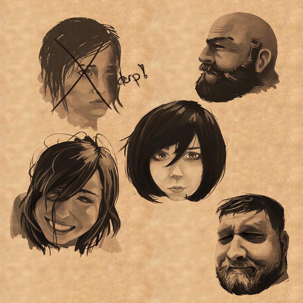 Faces practice