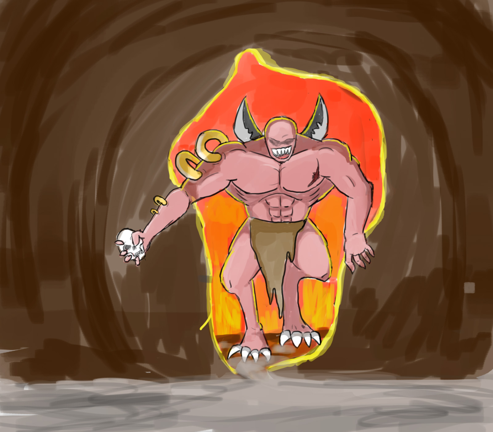 Beast, escaping hell