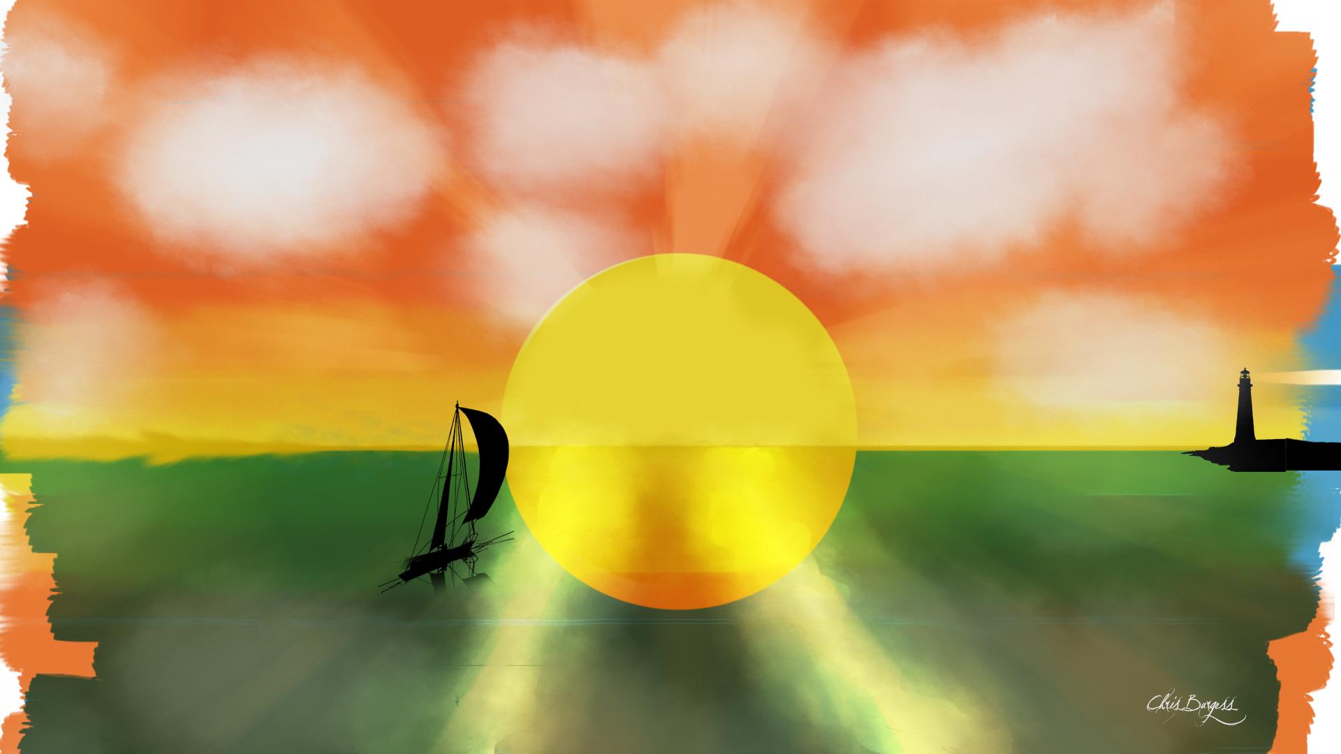 The Sun's Kiss
