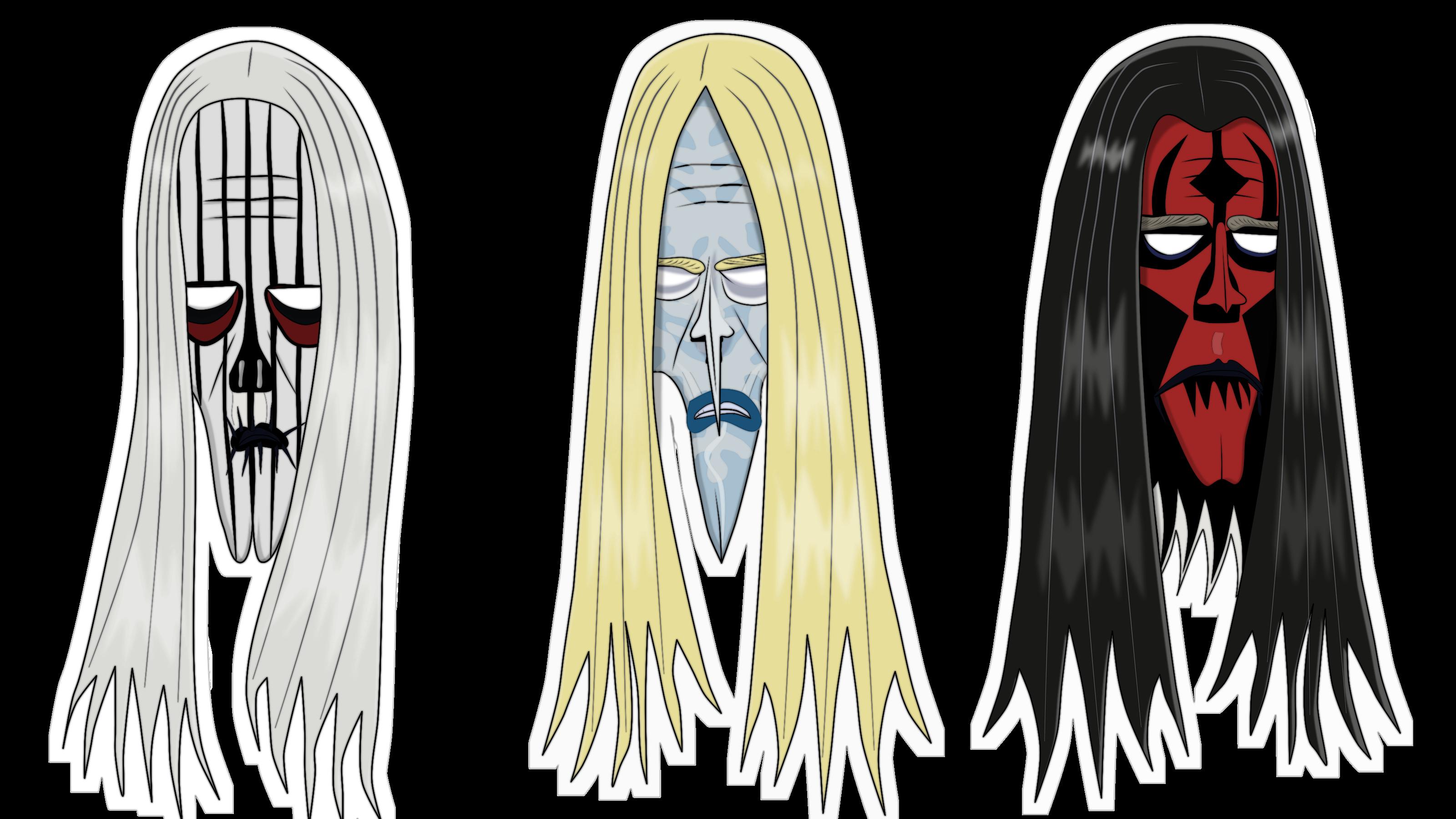 Kalmar Kvadriga cut-out masks