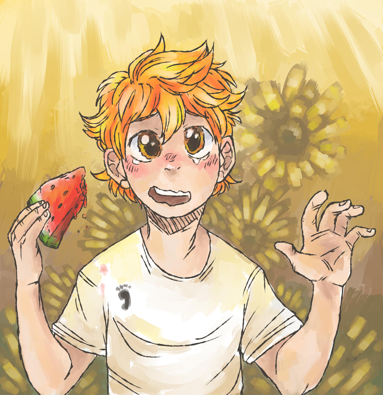 happy sunflower child