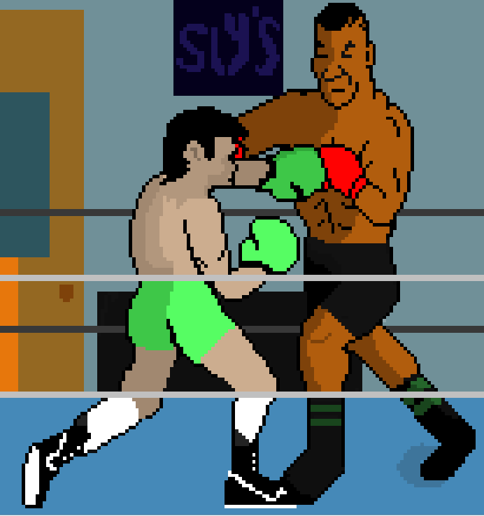 Punchout 2: like mike