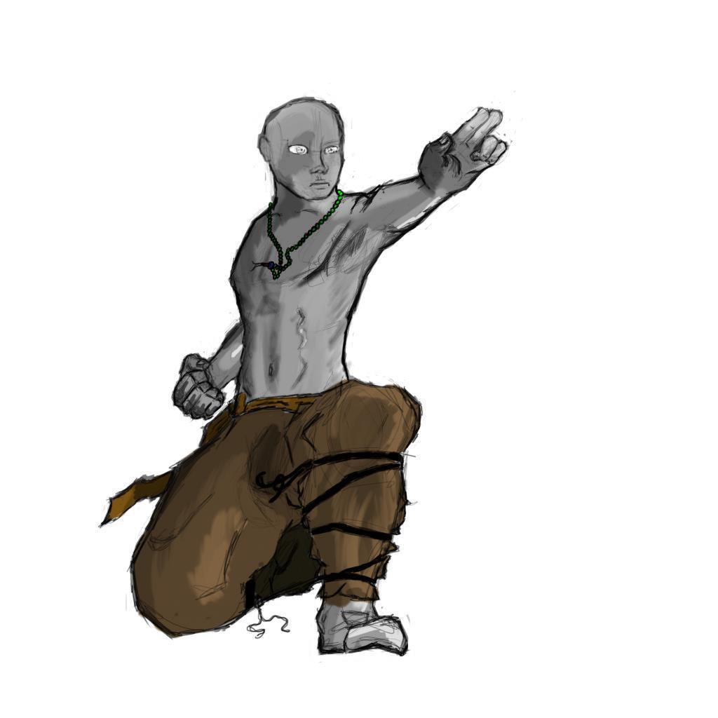 Monk Sketch