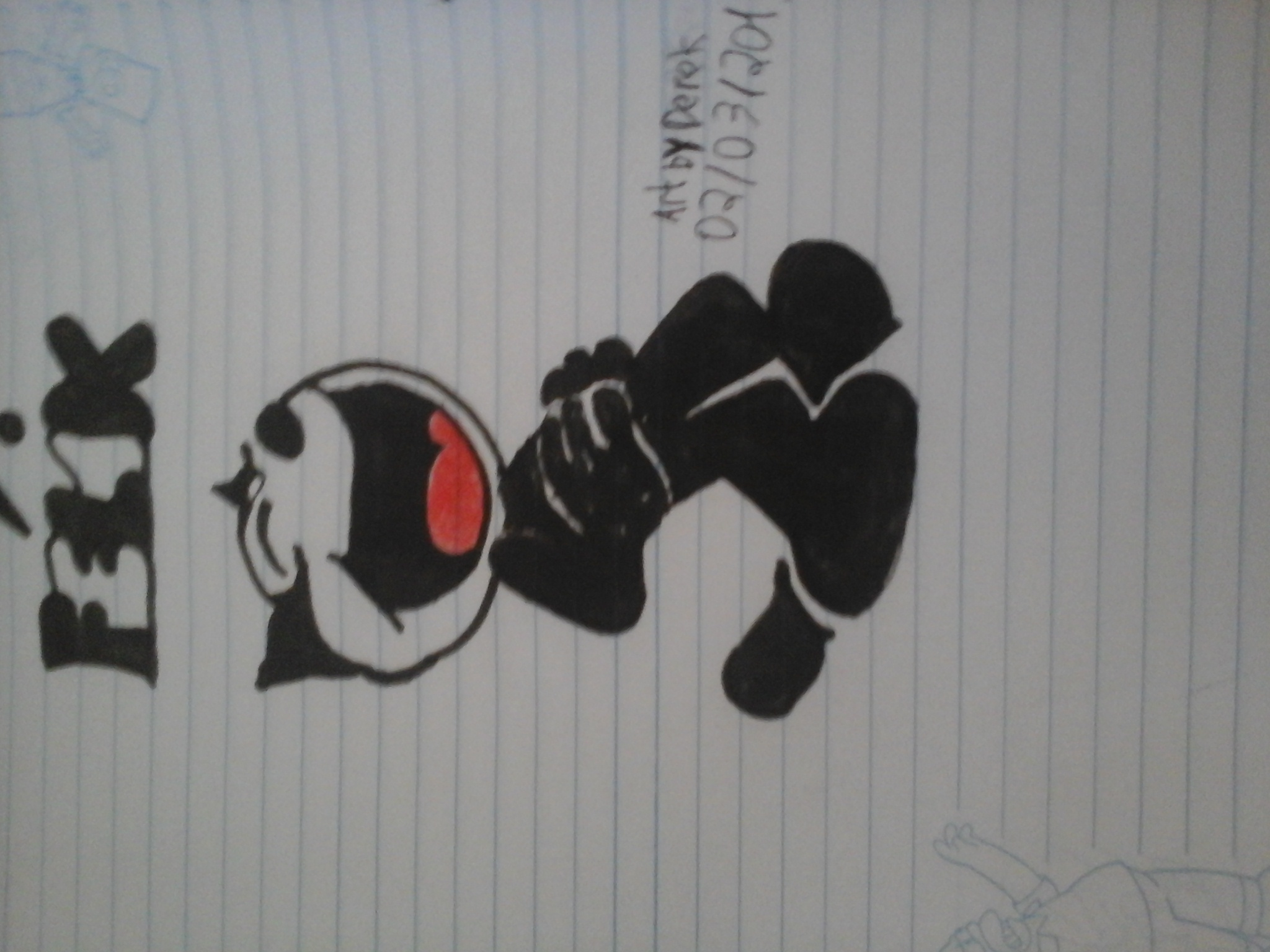 Felix the Cat Laughing