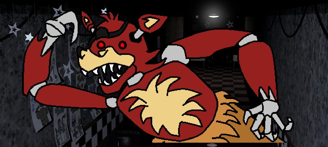 Foxy running down the halls?!