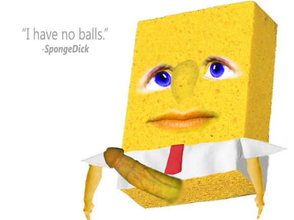 Sponge Bob Square Cock