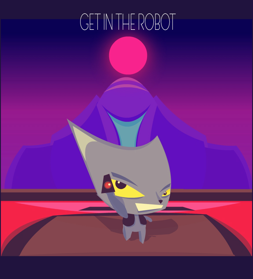 Get in the Robot!