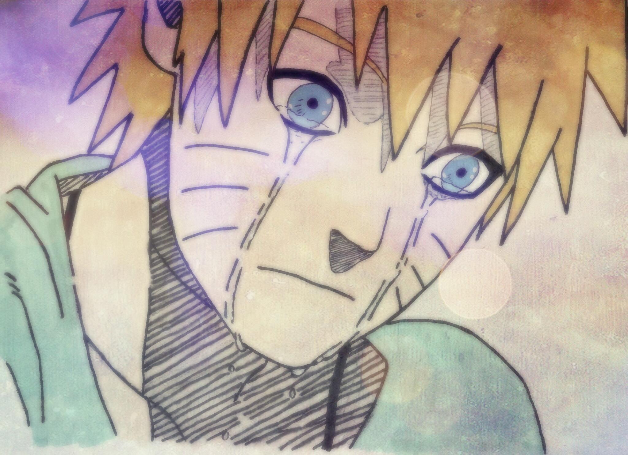 Naruto mourns Jiraiya's death