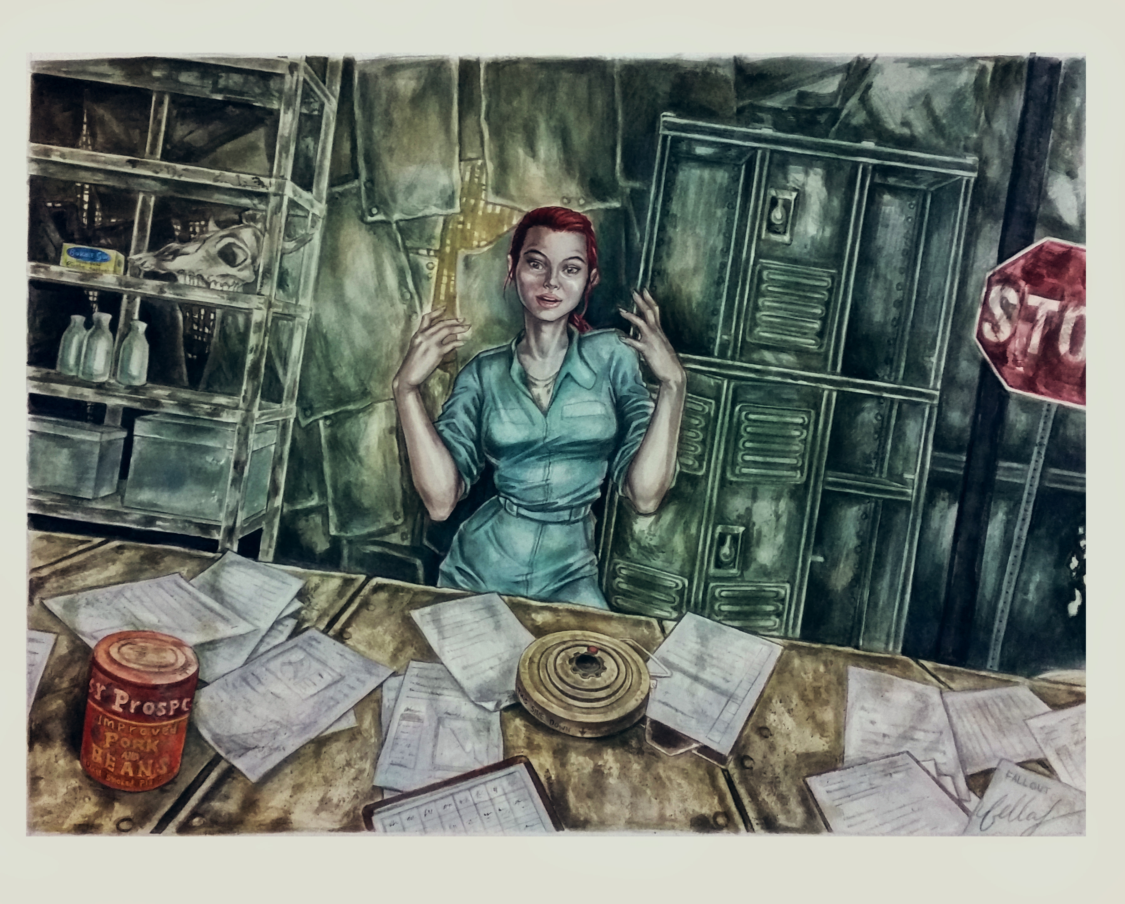 Moira Brown from Fallout