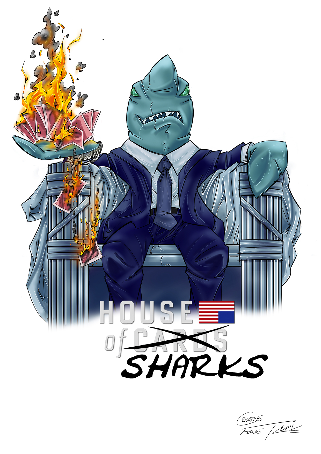House of... SHARKS!