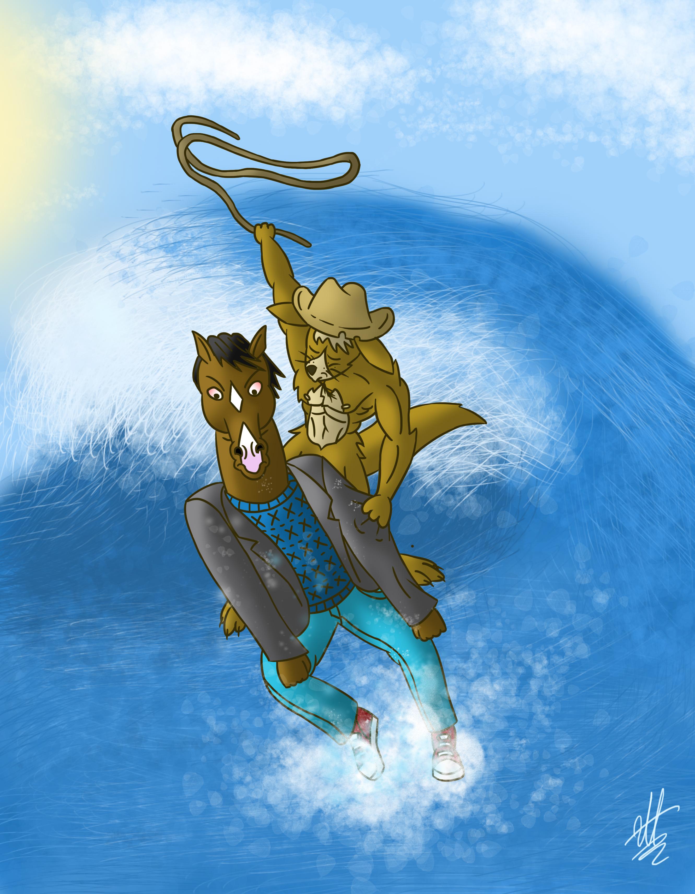 BoJack Horseman VS Australia
