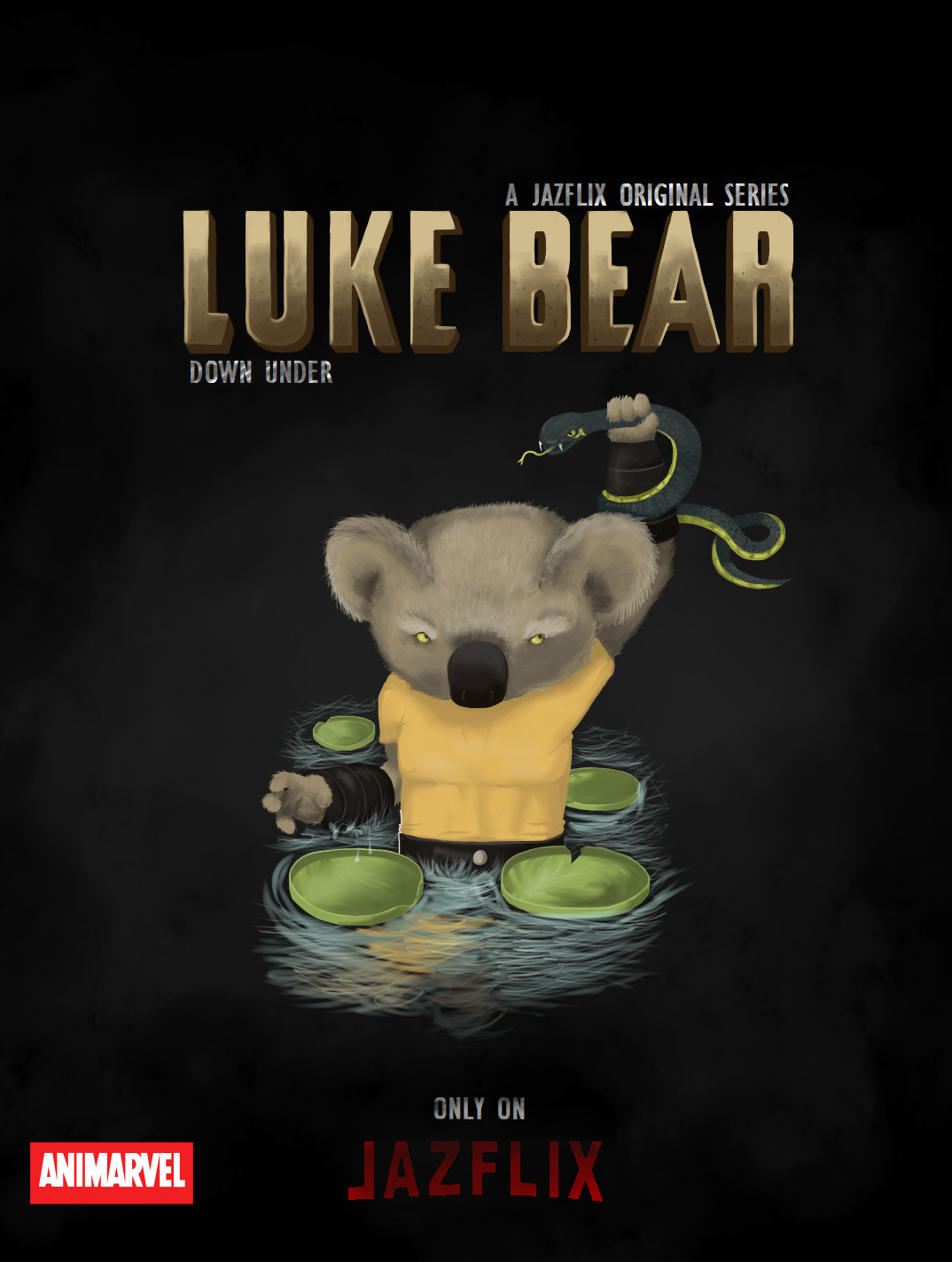 Luke DownUnder-without outline