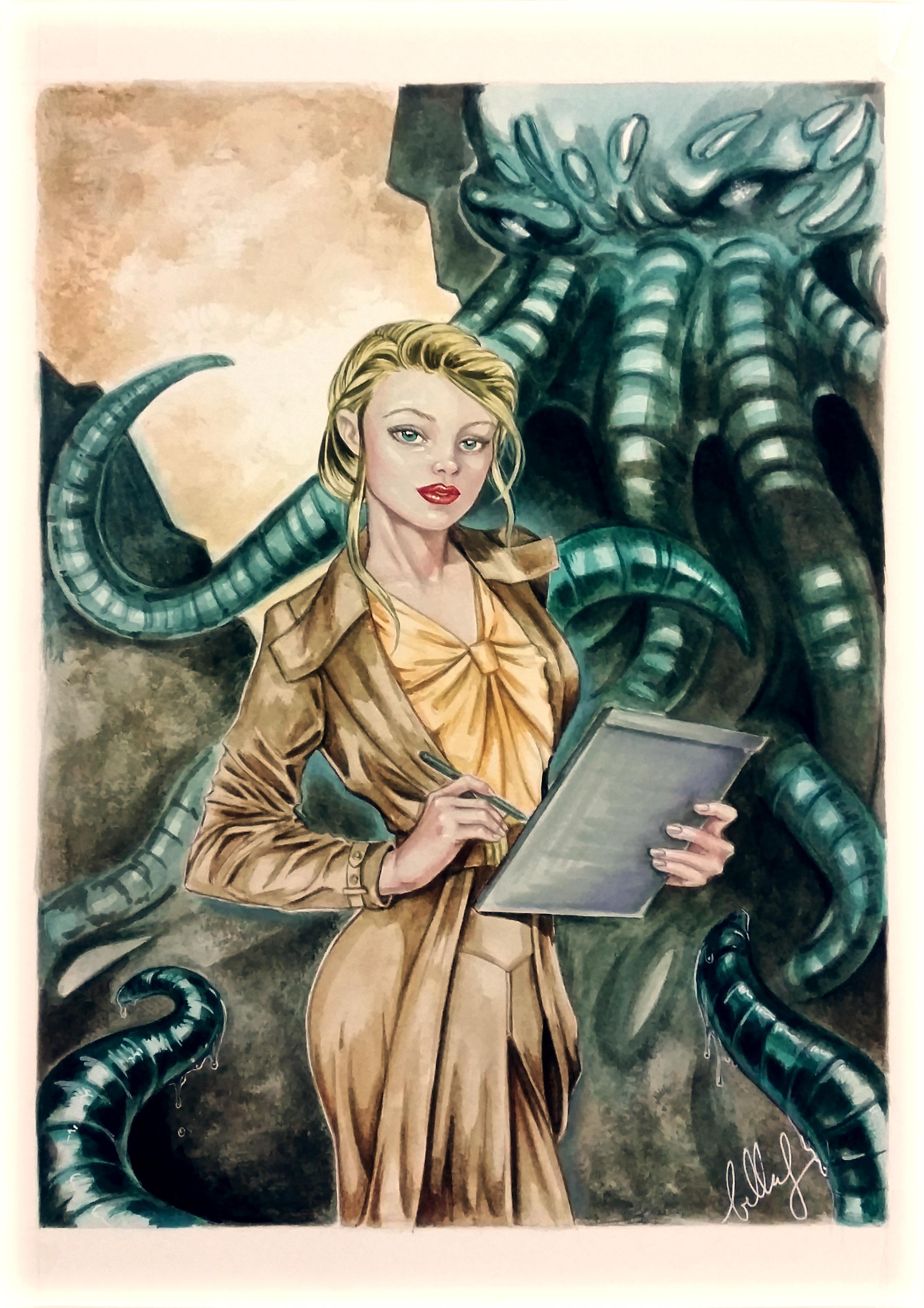 H.P. Lovecraft comission