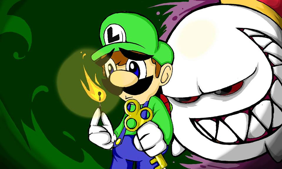 Luigi and the Big Boo Boss