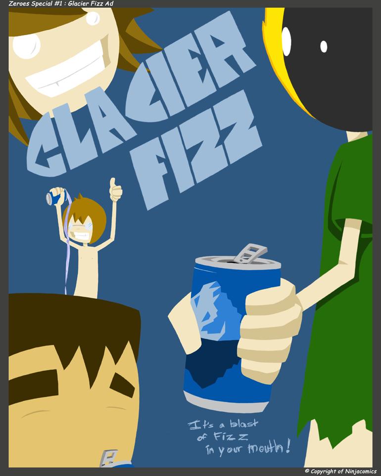 Zeroes S1: Glacier Fizz Ad