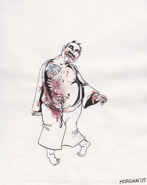 Japanese Zombie