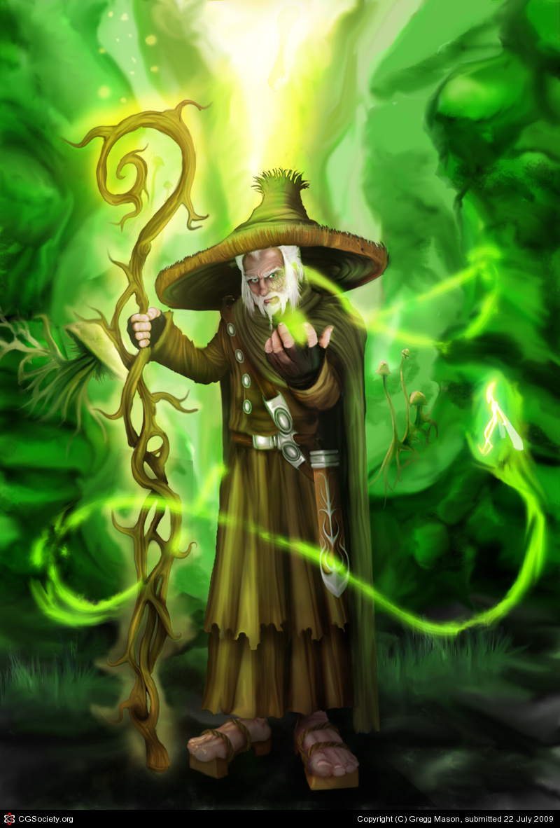 Mathius the Green Wzard