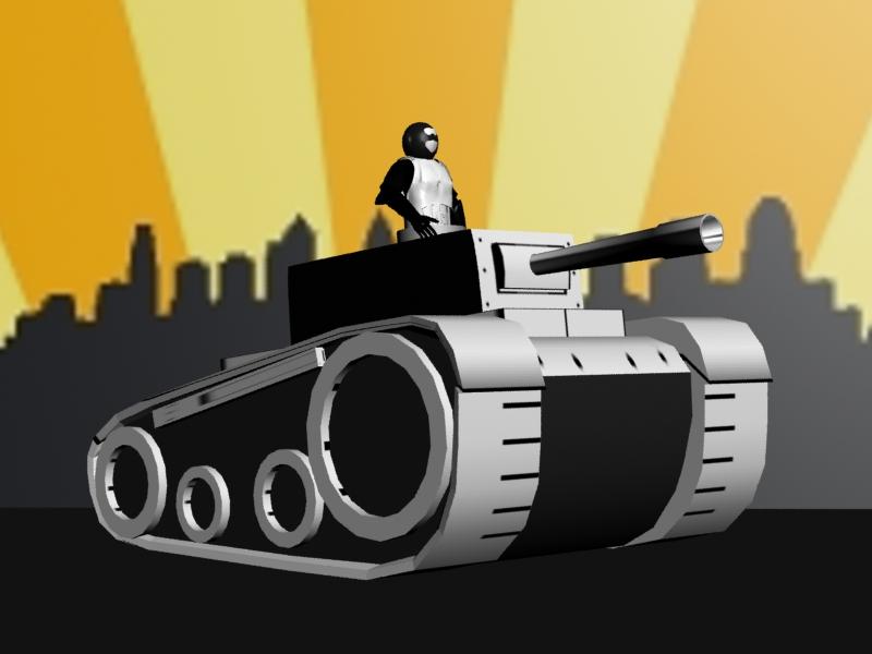 3D Newgrounds Tank