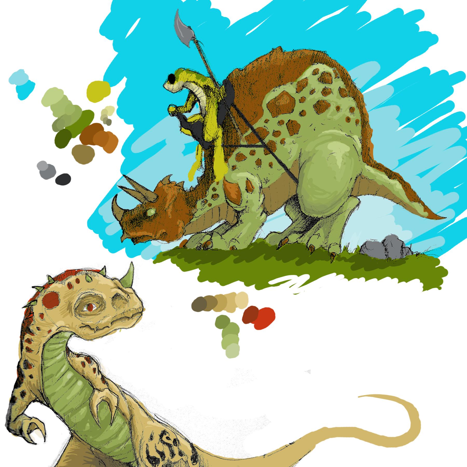 Some Dinos!
