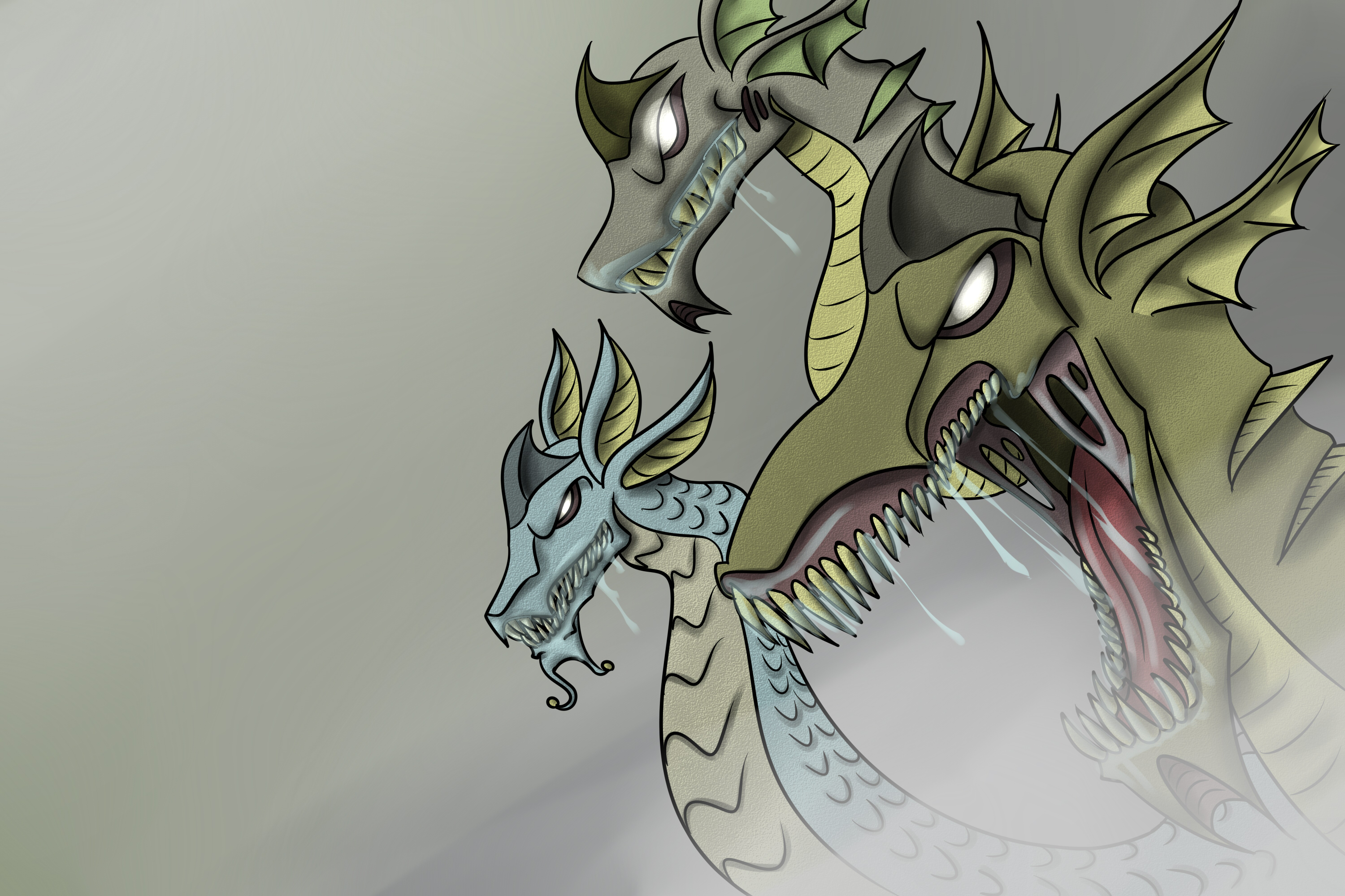 Dragons in the mist
