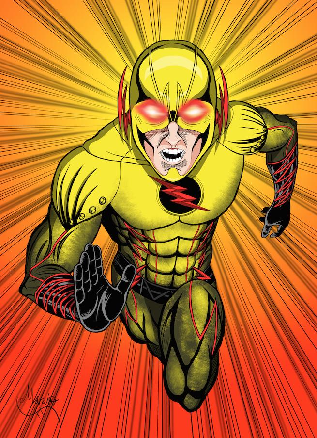 Reverse Flash Colored