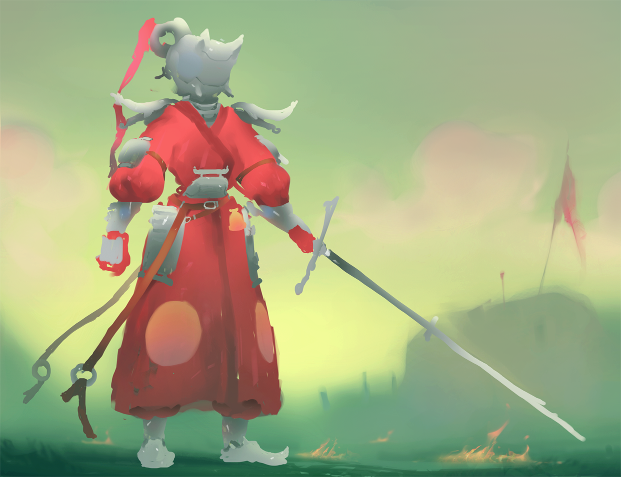 Candle knight