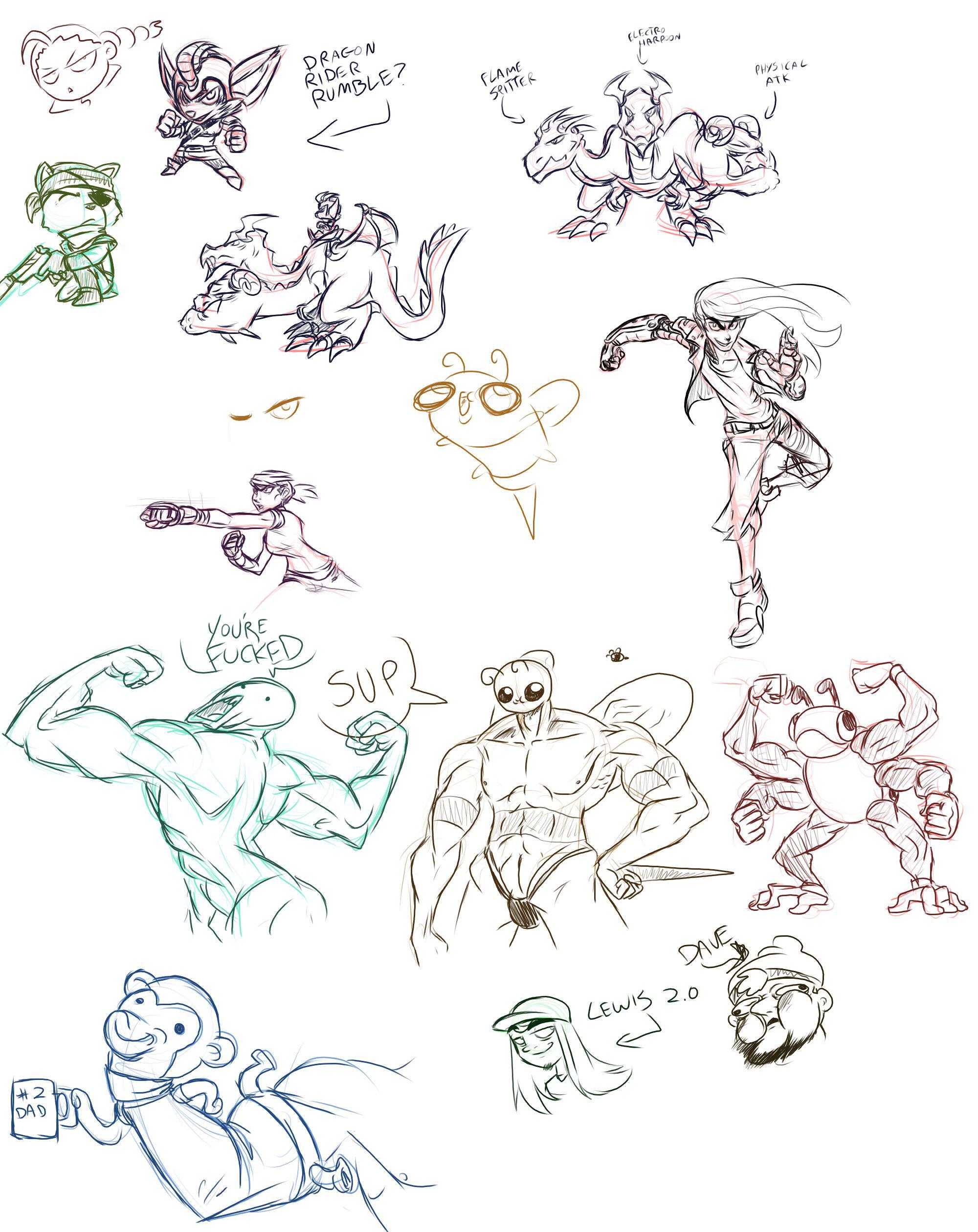Stream Doodles - 2