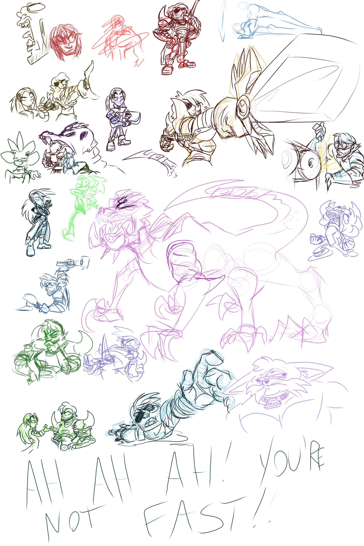 Stream Doodles - 3