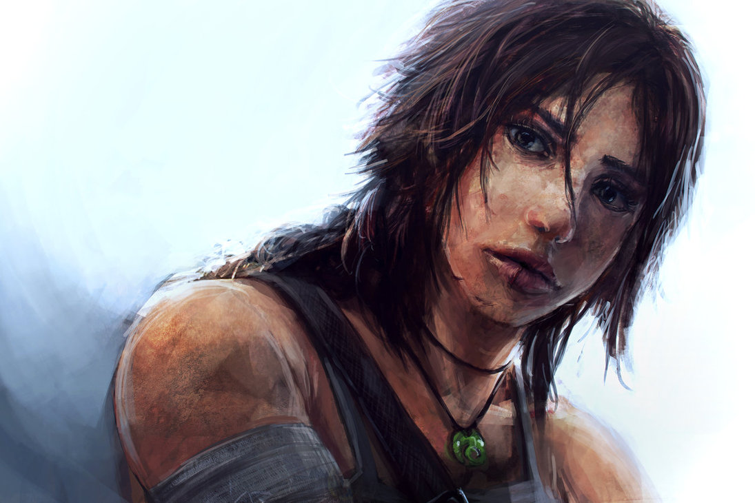 Just Lara Croft