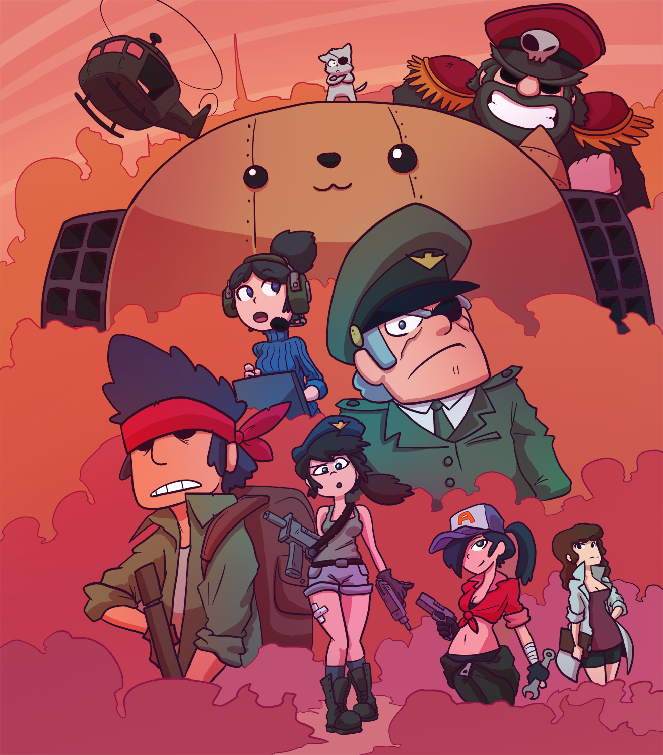 Mercenary Kings Late entry
