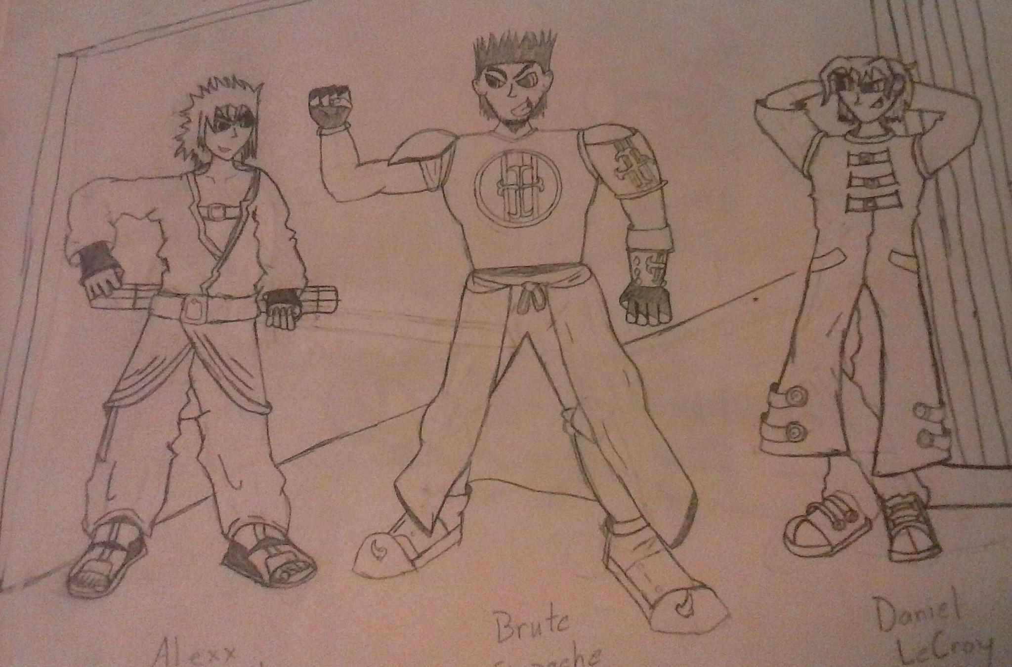 Trio Character Design