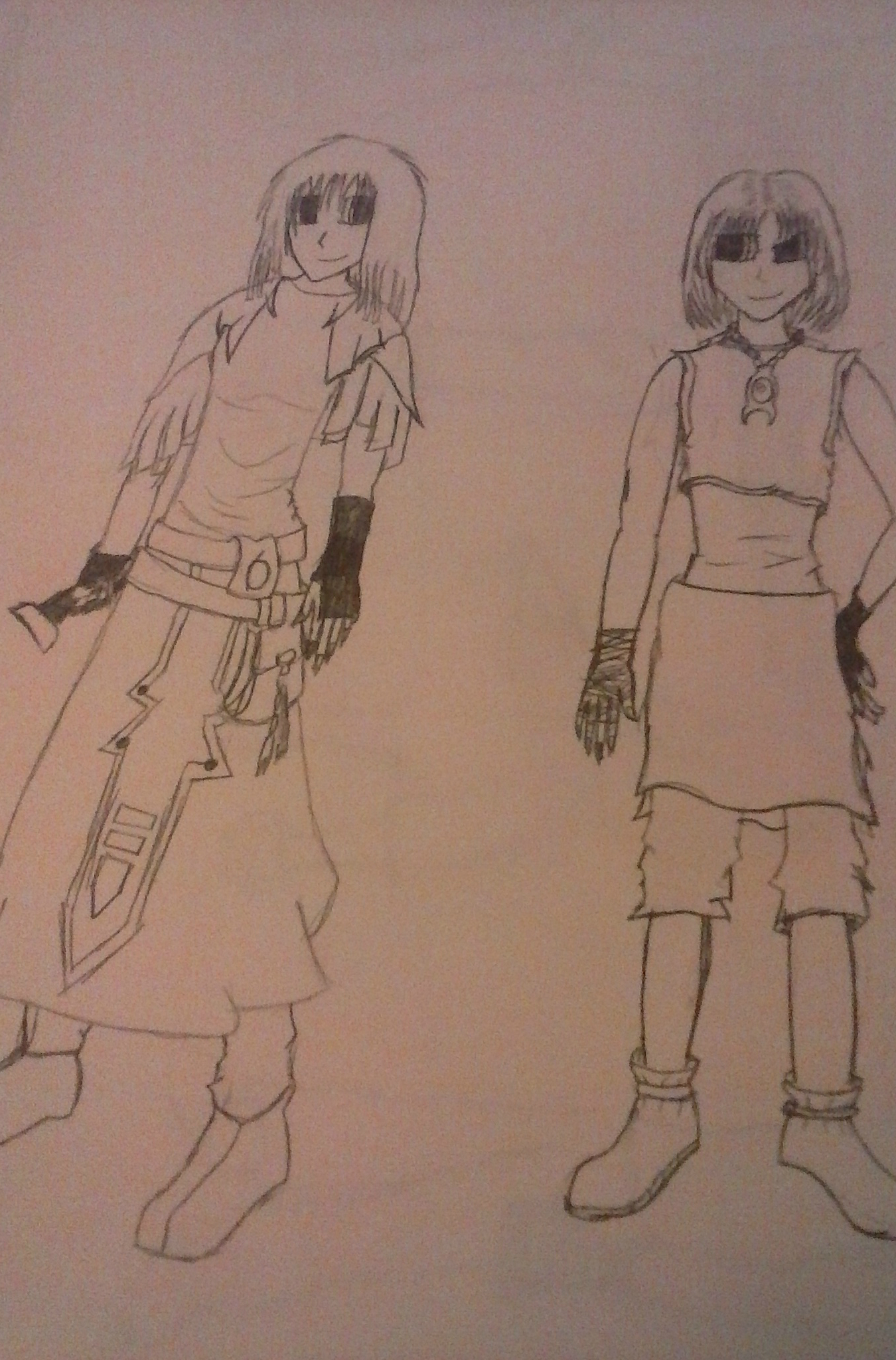 Two Females Design