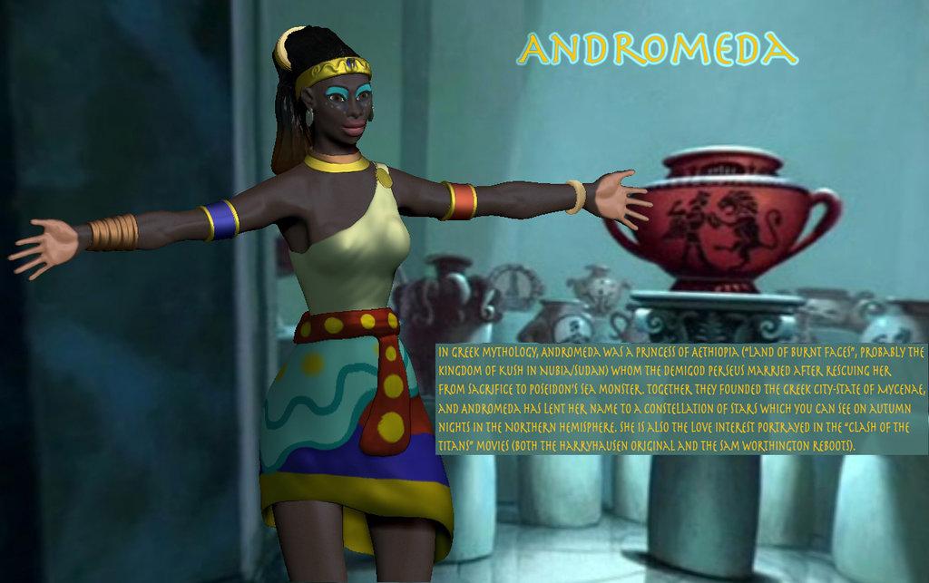 ZBrush Andromeda