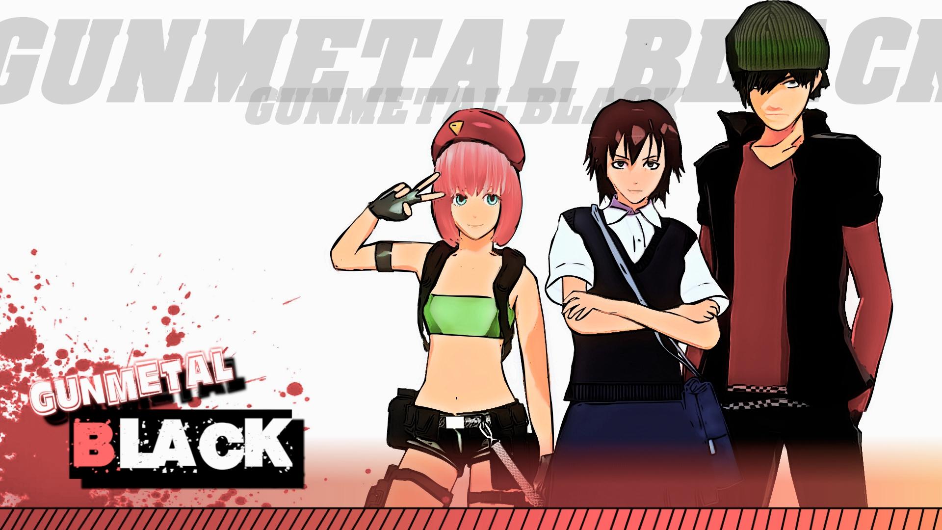 Gunmetal Black