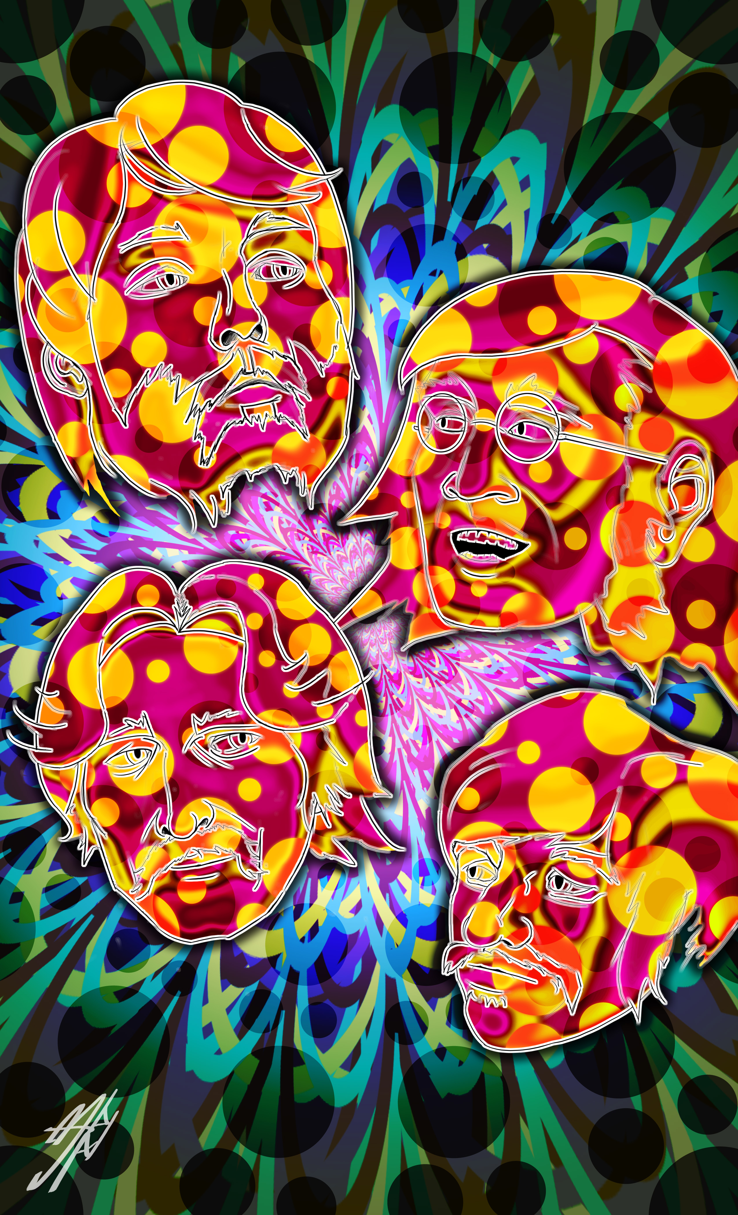 The Beatles Psychedelic