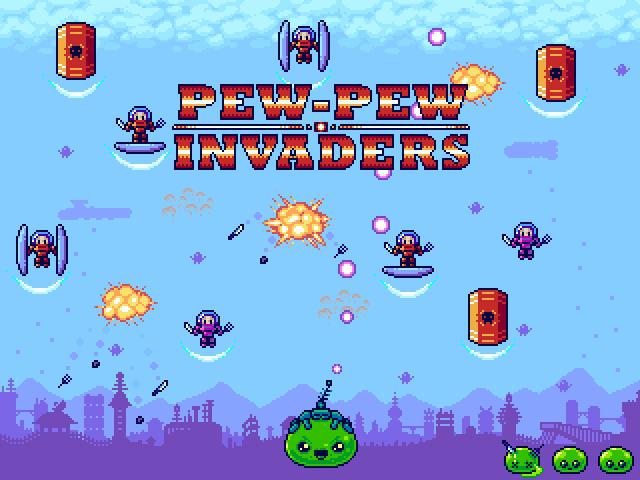 Pew-Pew Invaders