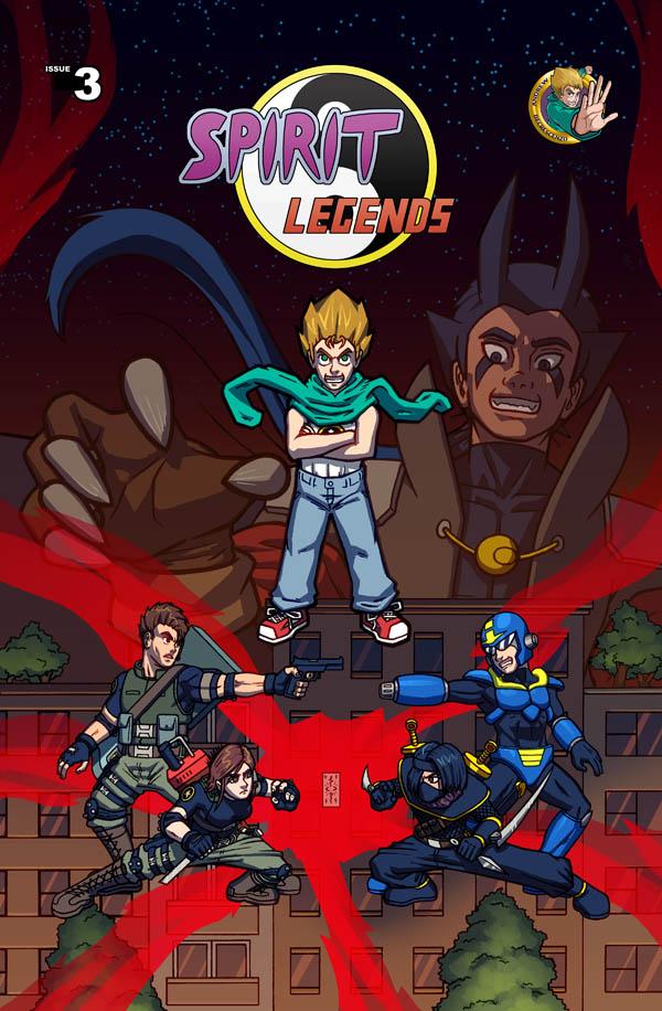 Spirit Legends - Ch 3 Cover