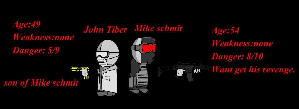 Mike schmit's and John tiber