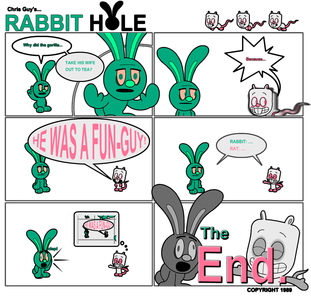 Rabbit Hole Comic 1