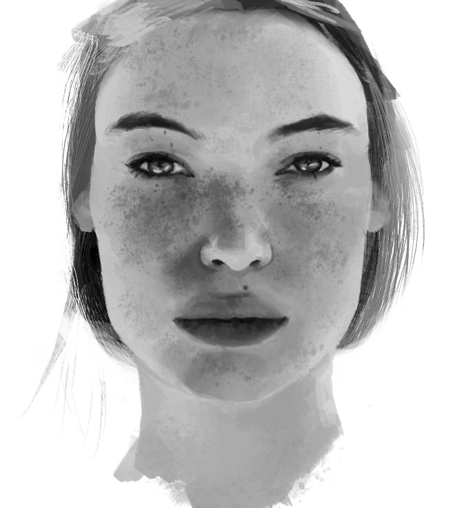 Portrait Practice: Lady