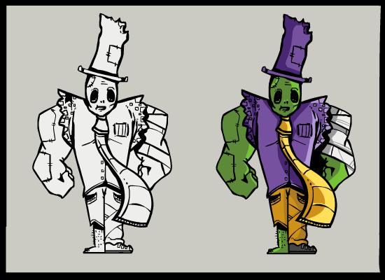 Zombie Gentleman Concept