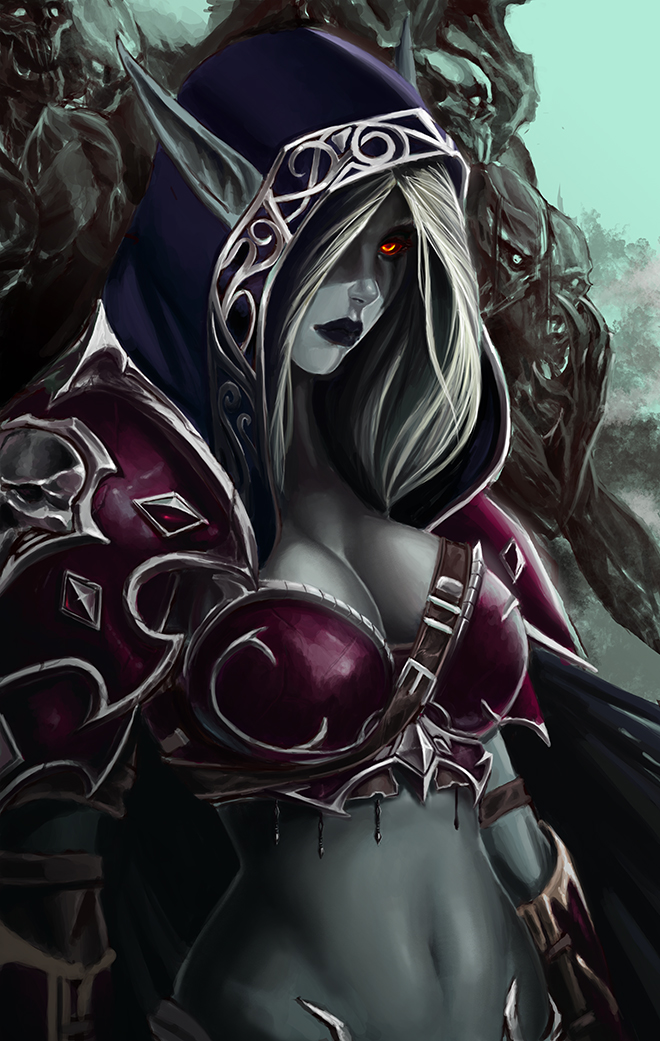 Sylvanas queen of the damned