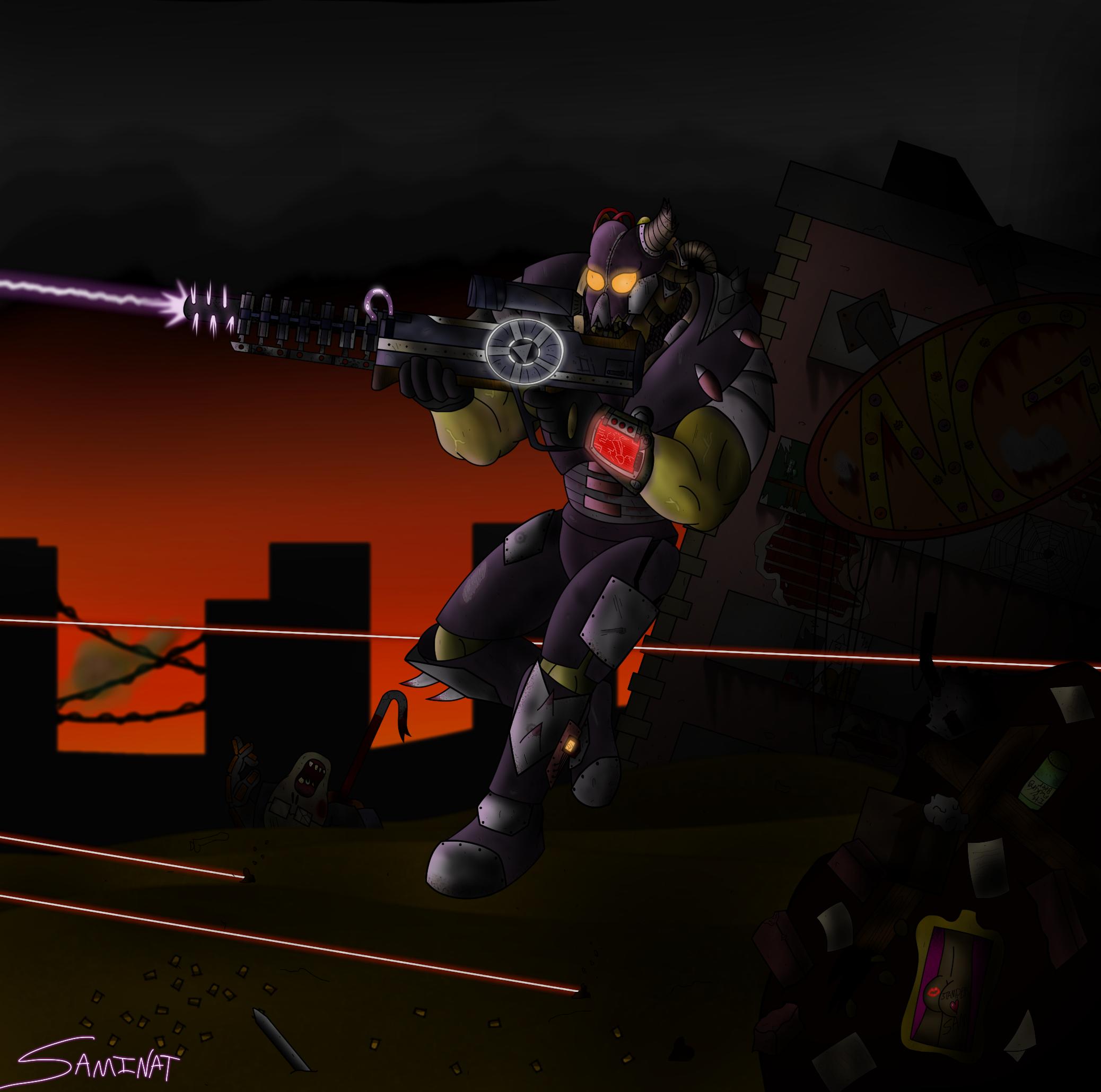 Armored Mutant Barto