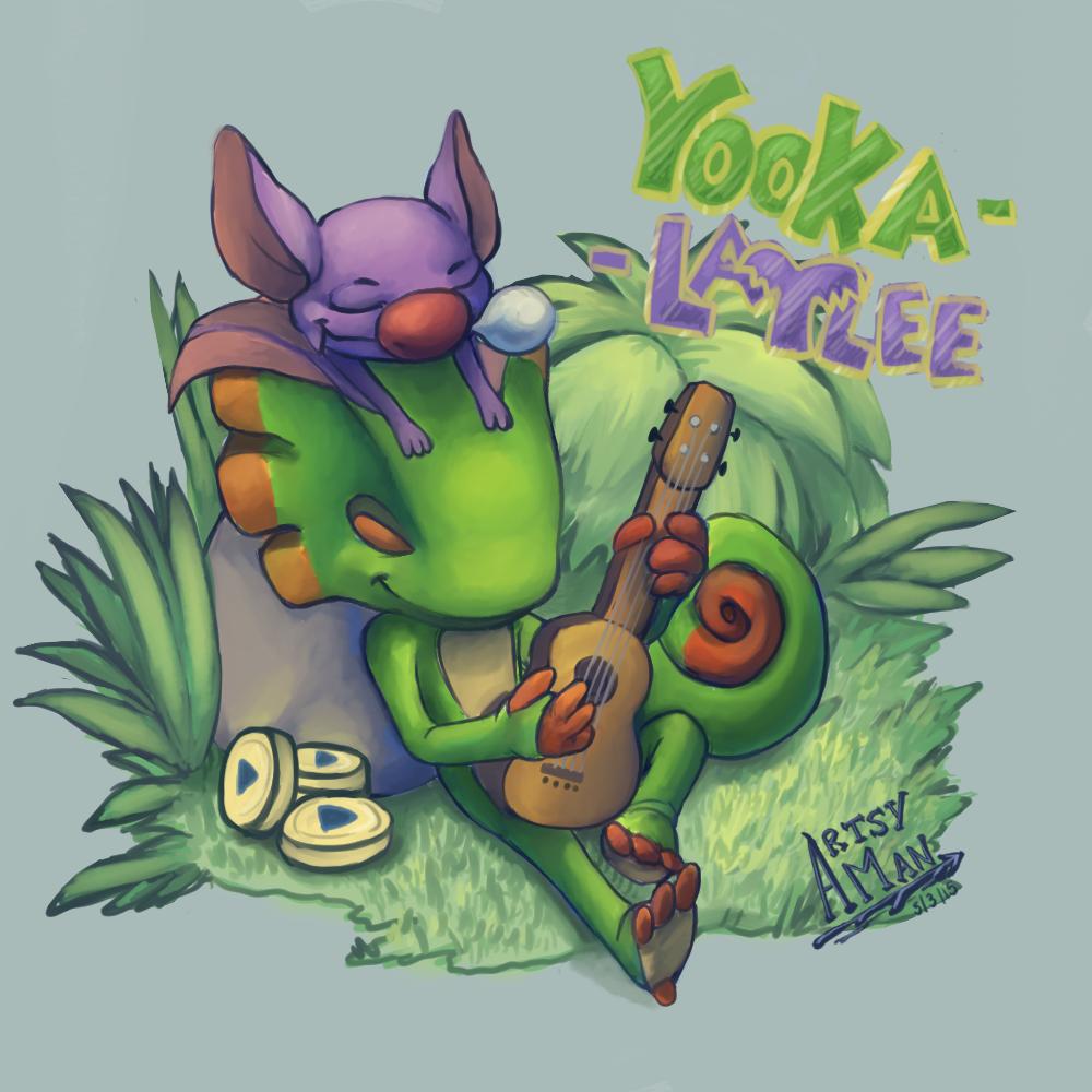 Yooka and Laylee