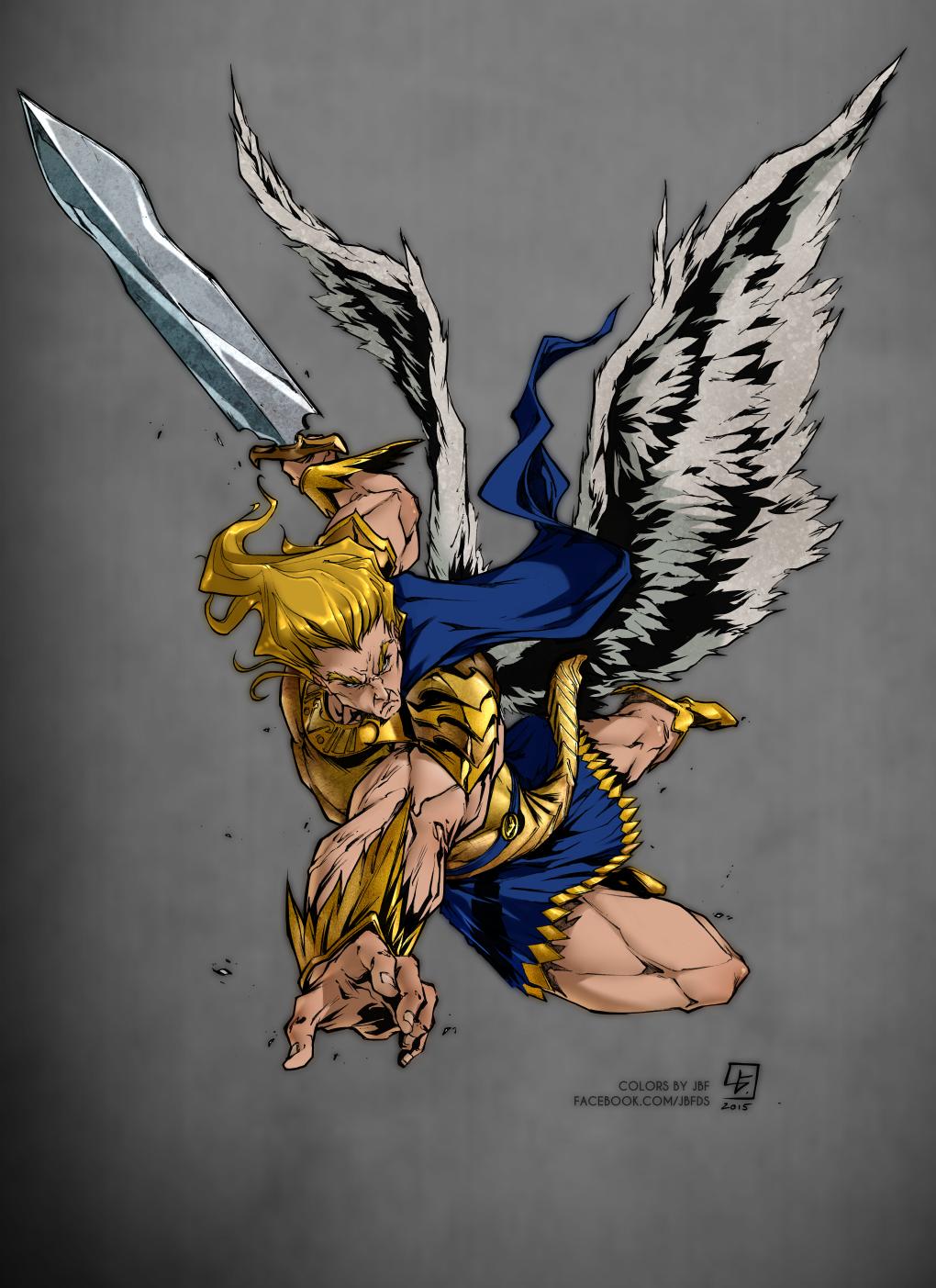 Color commission - Archangel