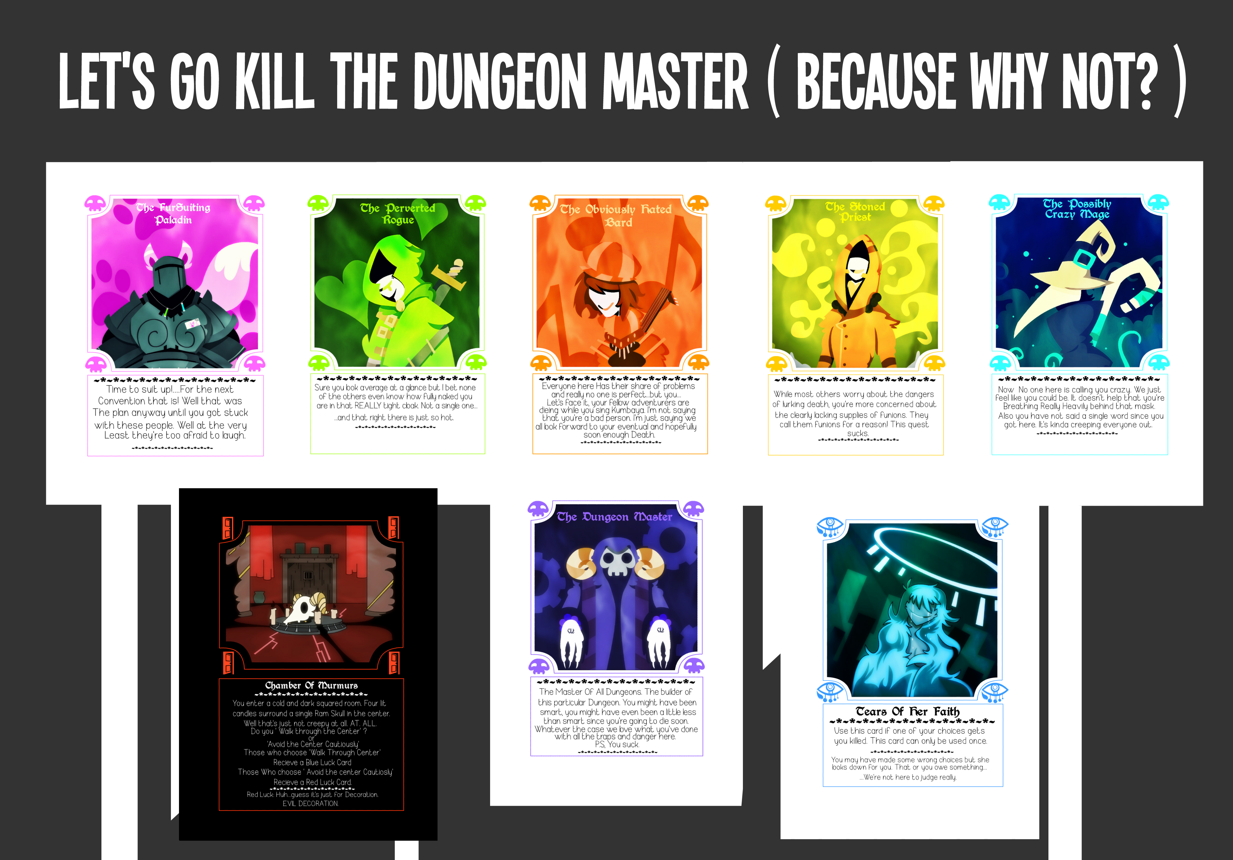 Let's kill the dungeon master